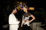ALEX DE BETAK; GUINEVERE VAN SEENUS, Rodarte Poolside party to show their latest collection. Hosted by Kate and Laura Muleavy, Alex de Betak and Katherine Ross.  Chateau Marmont. West  Sunset  Boulevard. Los Angeles. 21 February 2009 *** Local Caption *** -DO NOT ARCHIVE -Copyright Photograph by Dafydd Jones. 248 Clapham Rd. London SW9 0PZ. Tel 0207 820 0771. www.dafjones.com<br /> ALEX DE BETAK; GUINEVERE VAN SEENUS, Rodarte Poolside party to show their latest collection. Hosted by Kate and Laura Muleavy, Alex de Betak and Katherine Ross.  Chateau Marmont. West  Sunset  Boulevard. Los Angeles. 21 February 2009