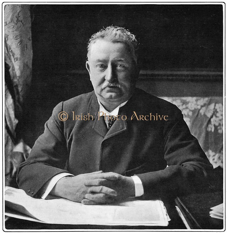 Cecil John Rhodes(1852-1902) English-born South African statesman. Photographic portrait published 1901