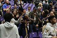 January 18, 2018 - Greenville, South Carolina - Timmons Arena: ETSU forward David Burrell (2), ETSU center Peter Jurkin (5)<br /> <br /> Image Credit: Dakota Hamilton/ETSU