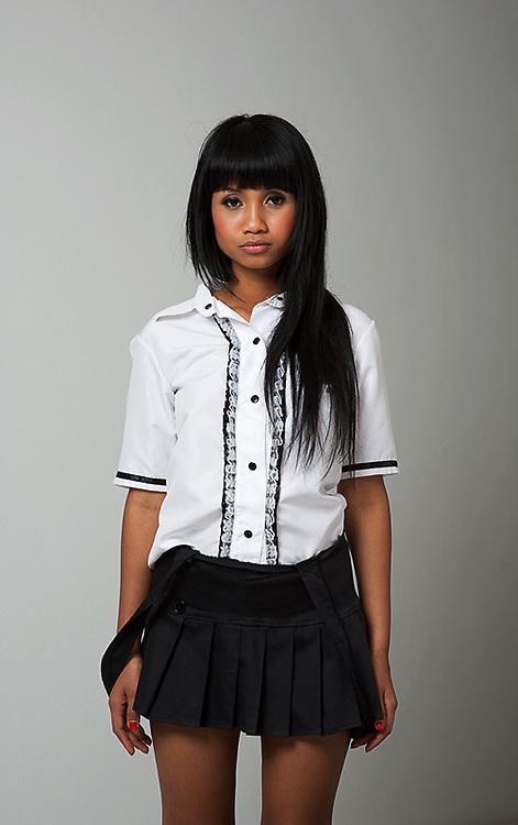Model Xanny Disjad, Thailand top model. Photoshoot in Pattaya.