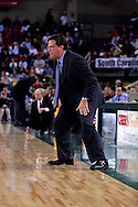 26 November 2005: Marquette head coach Tom Crean in the Marquette Golden Eagle 92-89 overtime victory over the University of South Carolina Gamecocks to win the championship at the Great Alaska Shootout in Anchorage, Alaska..