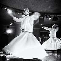 Whirling dervishes in Cappadocia