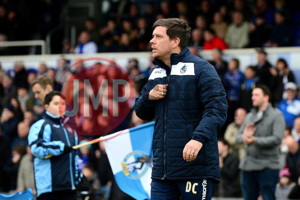 Bristol Rovers manager Darrell Clarke - Mandatory by-line: Dougie Allward/JMP - 07/01/2017 - FOOTBALL - Memorial Stadium - Bristol, England - Bristol Rovers v Northampton Town - Sky Bet League One