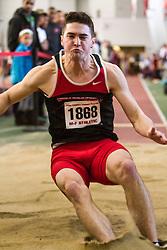 Boston University John Terrier Classic Indoor Track & Field: mens long jump, Northeastern, Darrow