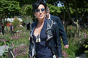 NANCY DELL D'OLIO, PRESS PREVIEW. The RHS Chelsea Flower Show 2011. The Royal Hospital grounds. Chelsea. London. 23 May 2011. <br /> <br />  , -DO NOT ARCHIVE-© Copyright Photograph by Dafydd Jones. 248 Clapham Rd. London SW9 0PZ. Tel 0207 820 0771. www.dafjones.com.