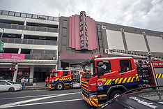 Auckland-Report of partial ceiling collapse at Events Cinema, Newmarket