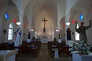 St. Francis Church, Kalaupapa Town, Kalaupapa Peninsula, Molokai, Hawaii