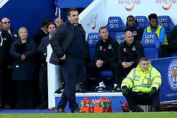 Everton caretaker manager David Unsworth looks on - Mandatory by-line: Robbie Stephenson/JMP - 29/10/2017 - FOOTBALL - King Power Stadium - Leicester, England - Leicester City v Everton - Premier League