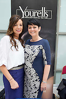 27/01/2014<br /> Anna Forde and Carol Joyce from Yourelle's at the SCCUL enterprise awards EXPO at the bailey Allen in NUIG<br /> Photo:Andrew Downes