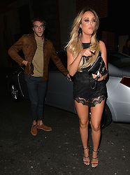 Charlotte Crosby and Max Morley attend Binky x In The Style launch party at the Libertine club in London, UK. 15/10/2015<br />BYLINE MUST READ : GOTCHAIMAGES.COM<br /><br />Copyright by © Gotcha Images Ltd. All rights reserved.<br />Usage of this image is conditional upon the acceptance <br />of Gotcha Images Ltd, terms and conditions available at<br />www.gotchaimages.com