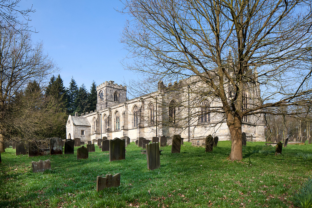 All Saints Harewood, West Yorkshire