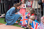 KATE & Prince William War Memorial Commemoration 2
