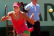 Roland Garros 2011. Paris, France. May 24th 2011..Serbian player Ana IVANOVIC against Johanna LARSSON