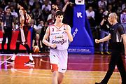Candi Leonardo<br /> Grissin Bon Pallacanestro Reggio Emilia - Umana Reyer Venezia<br /> Lega Basket Serie A 2017/2018<br /> Reggio Emilia, 08/04/2018<br /> Foto A.Giberti / Ciamillo - Castoria