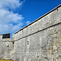 Fort Fincastle in Nassau, Bahamas<br />