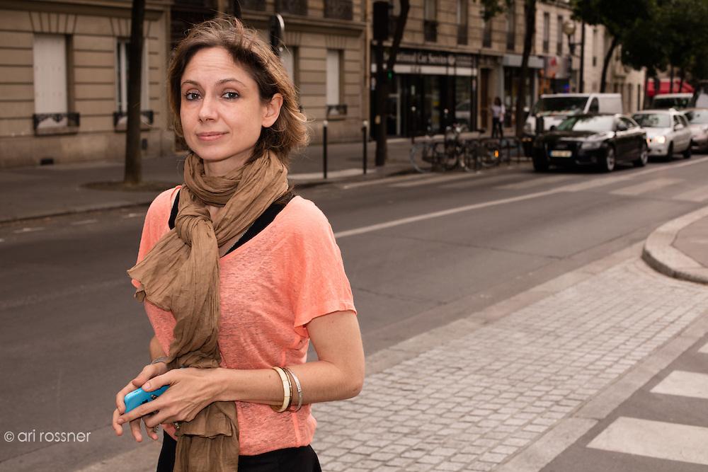 Aline Le Bail-Kremer - Porte Parole de l'association française des victimes du terrorisme (pour)