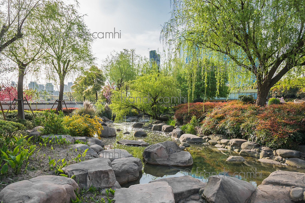 scenic view of gucheng park Shanghai popular republic of China