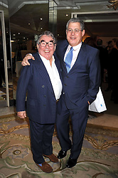 Left to right, RONNIE CORBETT and SIR CAMERON MACKINTOSH at the 2009 South Bank Show Awards held at The Dorchester, Park Lane, London on 20th January 2009.