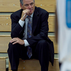 October 1, 2012; Westwego, LA, USA; Mickey Loomis, New Orleans Hornets head of basketball operations and New Orleans Saints general manager watches during Media Day at the Alario Center. Mandatory Credit: Derick E. Hingle-US PRESSWIRE
