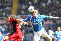 Photo: Mark Stephenson.<br /> Birmingham City v Coventry City. Coca Cola Championship. 01/04/2007.Birmingham's Sebastian Larsson on the ball