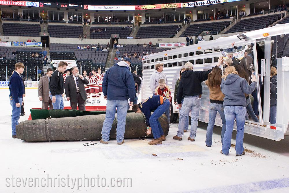OKC Blazers vs Tulsa.January 18, 2008.3-1 win