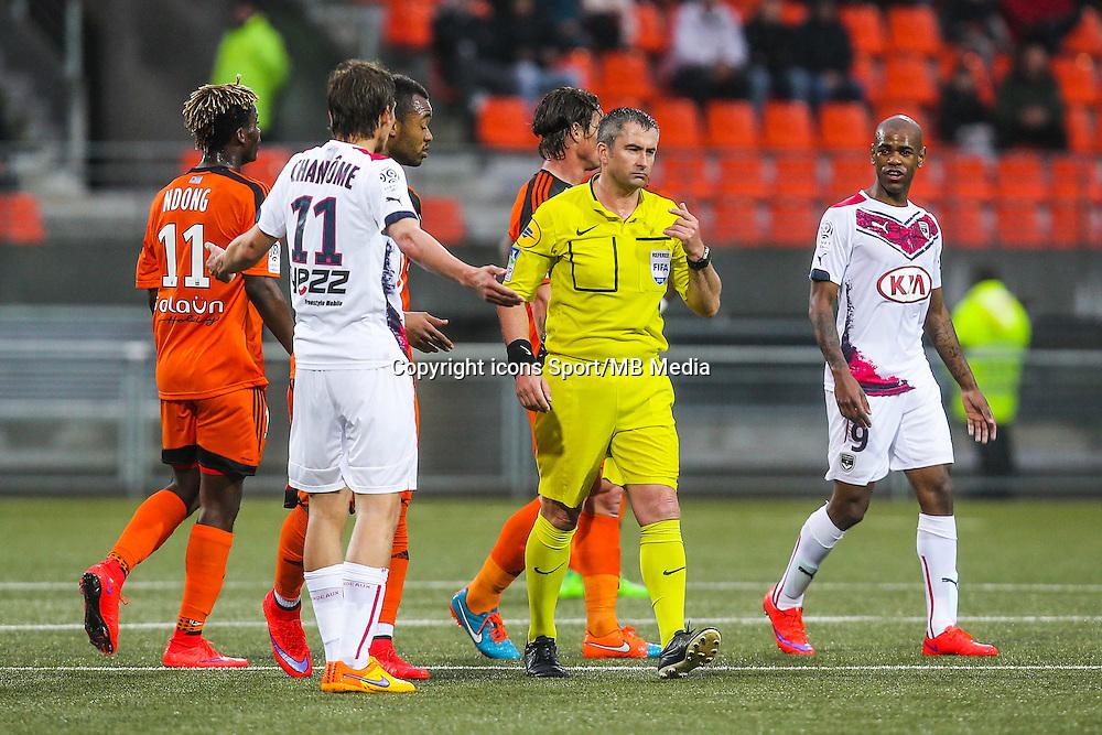 Fredy FAUTREL - 02.05.2015 - Lorient / Bordeaux - 35eme journee de Ligue 1 <br />Photo : Vincent Michel / Icon Sport