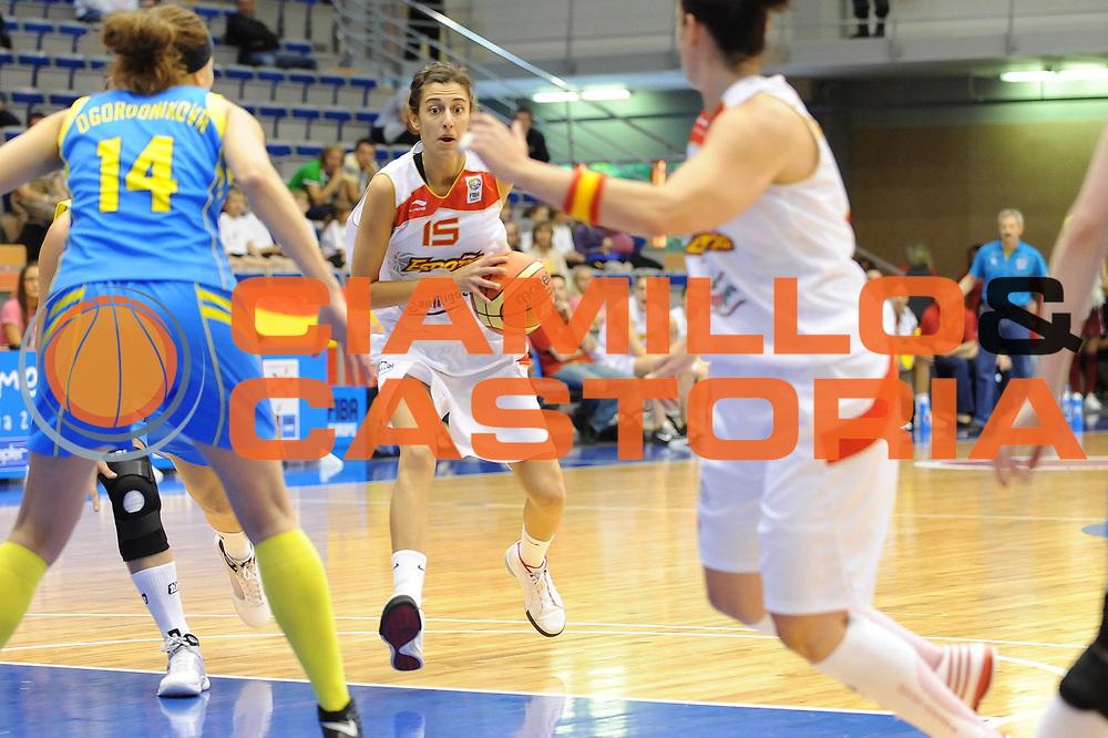 DESCRIZIONE : Liepaja Latvia Lettonia Eurobasket Women 2009 Spagna Ucraina Spain Ukraine<br /> GIOCATORE : Alba Torrens<br /> SQUADRA : Spagna Spain<br /> EVENTO : Eurobasket Women 2009 Campionati Europei Donne 2009 <br /> GARA : Spagna Ucraina Spain Ukraine<br /> DATA : 08/06/2009 <br /> CATEGORIA : passaggio<br /> SPORT : Pallacanestro <br /> AUTORE : Agenzia Ciamillo-Castoria/M.Marchi<br /> Galleria : Eurobasket Women 2009 <br /> Fotonotizia : Liepaja Latvia Lettonia Eurobasket Women 2009 Spagna Ucraina Spain Ukraine<br /> Predefinita :