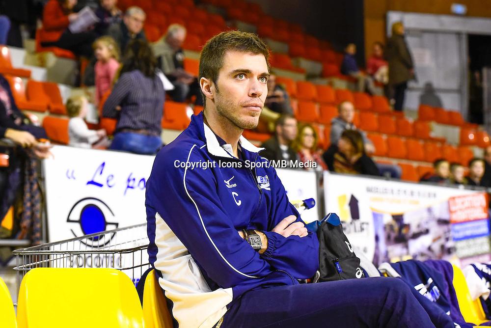 Gilles GOSSELIN  - 19.12.2014 - Beauvais / Saint Nazaire - 12e journee de Ligue A<br />Photo : Fred Porcu / Icon Sport