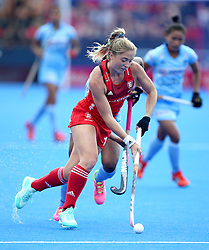 England's Suzy Petty during the Vitality Women's Hockey World Cup pool B match at The Lee Valley Hockey and Tennis Centre, London.