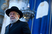 Rabbi Lau meets roman jewish community