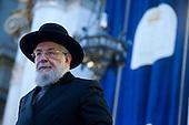 Rabbi Lau meets roman jewish community