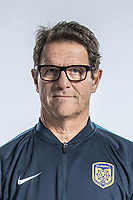 **EXCLUSIVE**Portrait of head coach Fabio Capello of Jiangsu Suning F.C. for the 2018 Chinese Football Association Super League, in Nanjing city, east China's Jiangsu province, 23 February 2018.