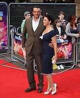 Belinda Stewart-Wilson The Inbetweeners Movie world premiere, Vue Cinema, Leicester Square, London, UK, 16 August 2011:  Contact: Rich@Piqtured.com +44(0)7941 079620 (Picture by Richard Goldschmidt)
