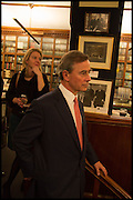 ROBBIE RAYNES; ; Book party for 'The Liar's Ball' by Vicky Ward hosted by  Sir Evelyn  de Rothschild at Henry Sotheran's, 2 Sackville Street London. 25 November 2014