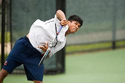 Somdev Devvarman - University of Virginia..The 6th Annual Virginia Fall Invitational Men's NCAA Tennis tournament was held in Charlottesville, VA on September 14, 2007.