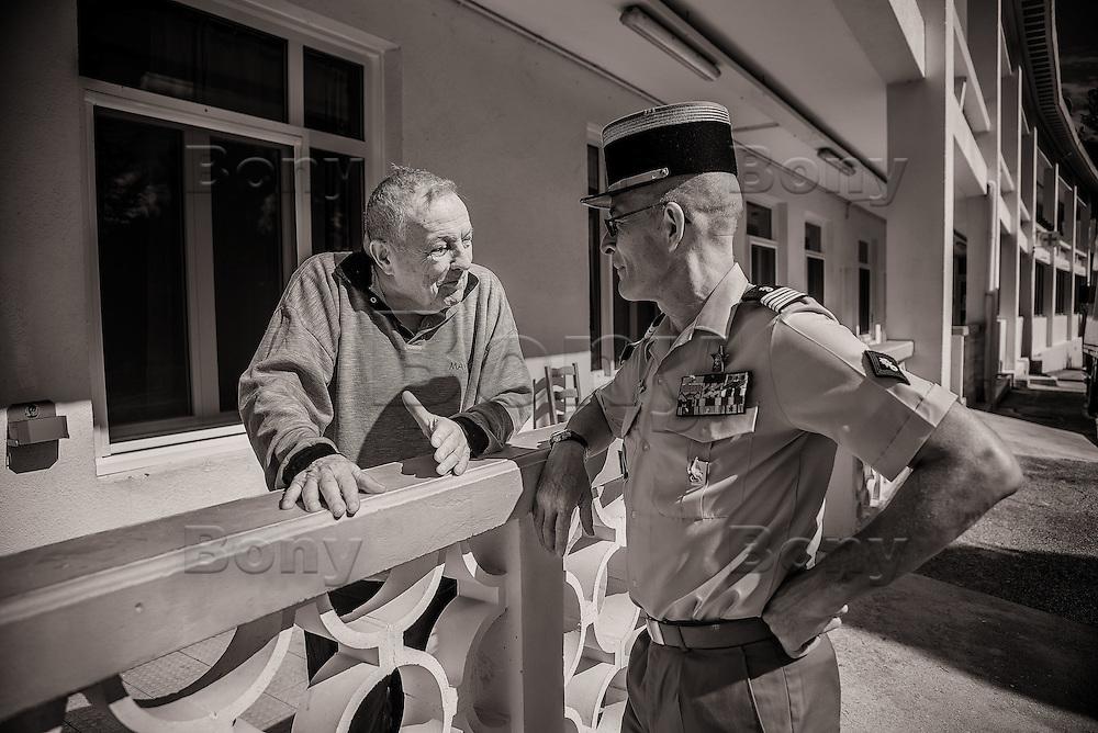 &quot;Honneur et fidelite&quot;, la Legion n'abandonne jamais les siens, au combat comme dans la vie.<br /> <br /> &ldquo;Honor and loyalty&rdquo;, the Legion don't abandon his own, in the combat or in the life.<br /> <br /> Unique au monde, les arm&eacute;es de tous les autres pays viennent pour comprendre son syst&egrave;me de fonctionnement.<br /> Unique in the world, the armies of all other countries come to understand his operation system.<br /> <br /> Rencontre avec des personnages extraordinaires<br /> Meeting with extraordinary characters<br /> <br /> More texts<br /> http://maya-press.net/iile-the-last-sanctuary-for-old-legionnaires/