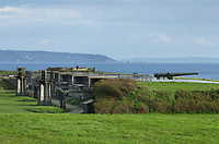 Gun battryies of Fort Casey State Park, Washington