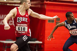 York, mens 4x200 relay college, Armory Track Invitational Indoor,