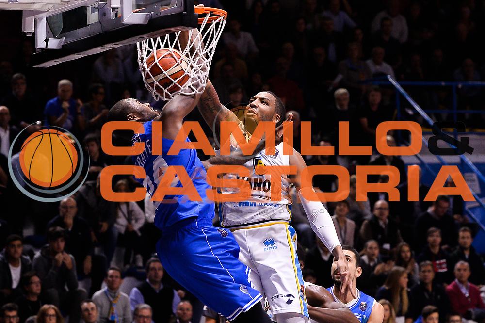 Thomas TaShawn<br /> Vanoli Cremona - Enel New Basket Brindisi<br /> LegaBasket 2016/2017<br /> Cremona 07/11/2016<br /> Foto Ciamillo-Castoria