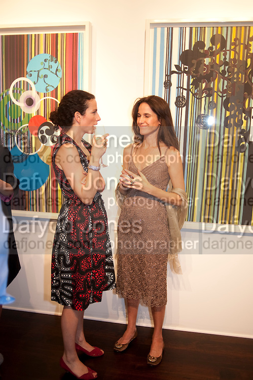 DOROTHEA JAFFE; JANNA STELLA-SAWICKA;  Galen and Hilary Weston host the opening of Beatriz Milhazes Screenprints. Curated by Iwona Blazwick. The Gallery, Windsor, Vero Beach, Florida. Miami Art Basel 2011