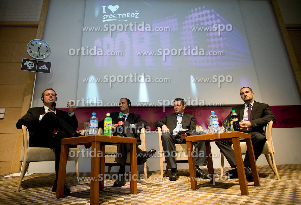 at First day of 6th Sporto conference about Marketing in sport, on November 23, 2009, in Kongresni center Portus, Portoroz-Portorose, Slovenia. (Photo by Vid Ponikvar / Sportida)
