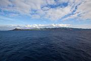 Oahu, from ocean, Hawaii