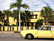 Yellow car, St. Petersburg, FL