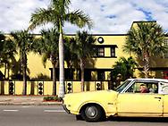 Yellow car, St. Petersburg, FL