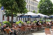 Dresden Neustadt, Königstraße, Prager Bierstuben, Dresden, Sachsen, Deutschland.|.Dresden, Germany,  Dresden Neustadt, king street