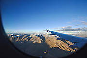 India, Jammu and Kashmir, Ladakh, landscape as seen from an aeroplane