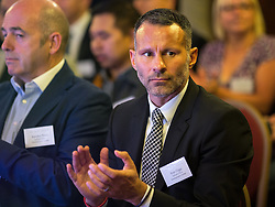 © Licensed to London News Pictures . 28/07/2016 . Manchester , UK . RYAN GIGGS at the launch of the St Michael's city centre development , at the Lord Mayor's Parlour in Manchester Town Hall . Backed by The Jackson's Row Development Partnership (comprising Gary Neville , Ryan Giggs and Brendan Flood ) along with Manchester City Council , Rowsley Ltd and Beijing Construction and Engineering Group International , the Jackson's Row area of the city centre will be redeveloped with a design proposed by Make Architects . Photo credit : Joel Goodman/LNP