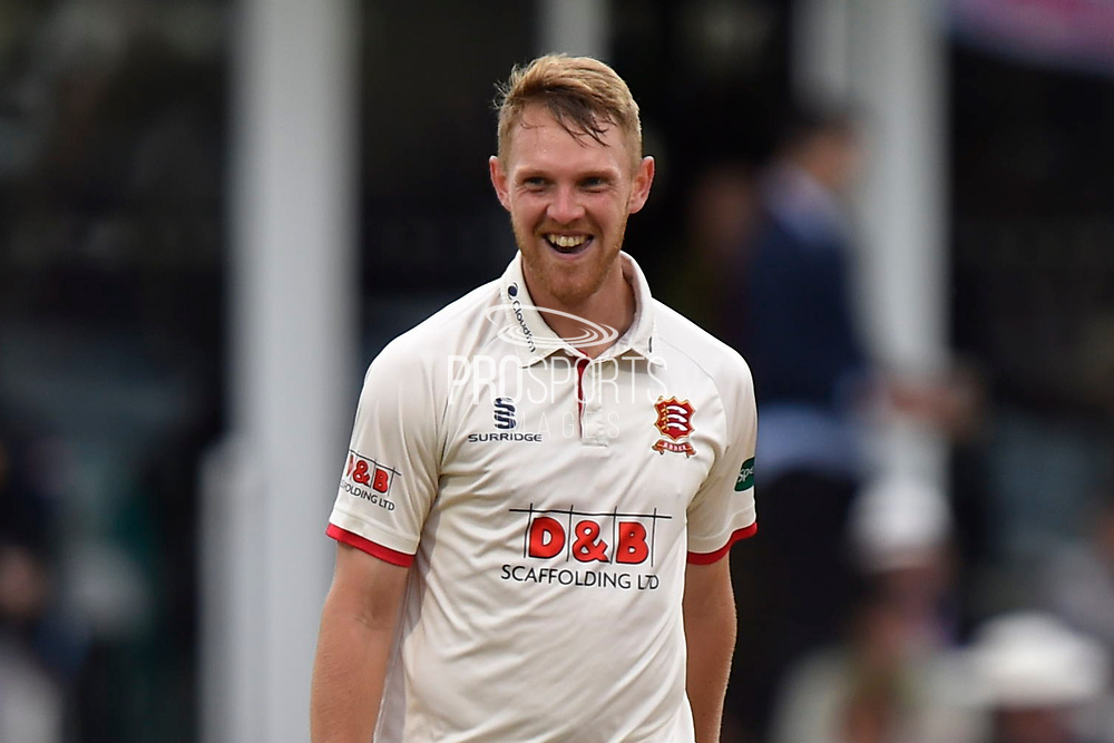 Jamie Porter of Essex during the Specsavers County Champ Div 1 match between Somerset County Cricket Club and Essex County Cricket Club at the Cooper Associates County Ground, Taunton, United Kingdom on 23 September 2019.