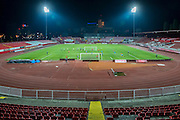 NOVI SAD - 17-08-2016, Vojvodina - AZ, Karadjordje Stadion, training, persconferentie, overzicht.