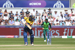 June 28, 2019 - Chester Le Street, County Durham, United Kingdom - Sri Lanka's Avishka Fernando batting during the ICC Cricket World Cup 2019 match between Sri Lanka and South Africa at Emirates Riverside, Chester le Street on Friday 28th June 2019. (Credit Image: © Mi News/NurPhoto via ZUMA Press)